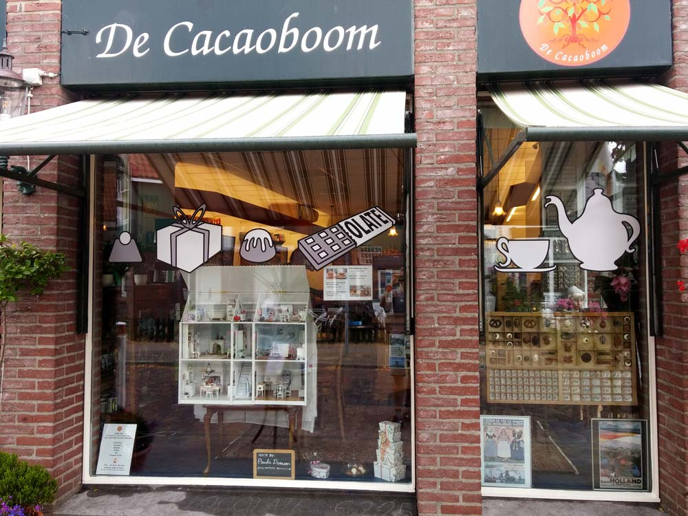 cacaoboom chocolade