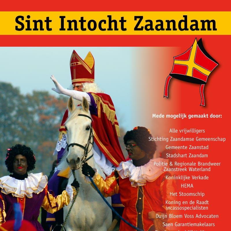 sinterklaas in Zaandam