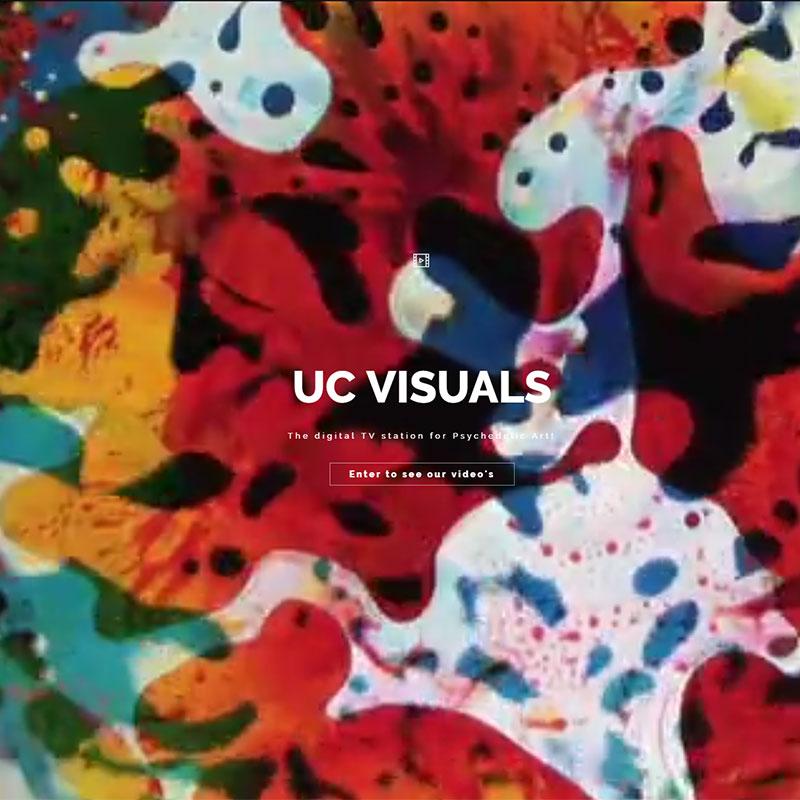 ucvisuals - liquid lights en vloeistof projecties voor iedereen beschikbaar via de online streaming dienst Vimeo