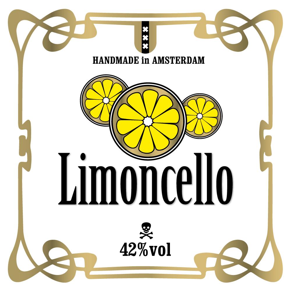 Limoncello etiket